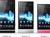 Comparaison vidéo Sony Xperia