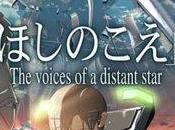 Voices distant star Hoshi koe, Makoto Shinkai (2002)