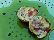 Muffins jambon-basilic