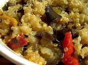 Ratatouille Crumble Quinoa Parmesan