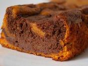 Moelleux marbré patate douce chocolat fève Tonka!)