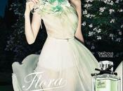 Flora, garden Gucci parfum: Visuel nouvelle campagne printemps/été 2012 avec Abbey Kershaw