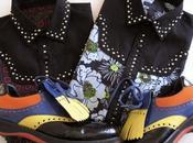 jupe plissée Prada printemps 2012