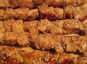 Brochette poulet sauce Yakitori