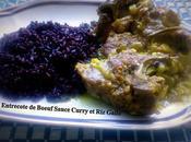Entrecote Boeuf Sauce Curry *Riz Gallo*