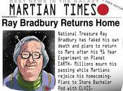 Bradbury envol vers planète rouge