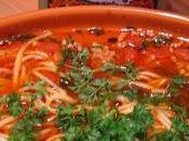Spaghetti tunisienne tajine