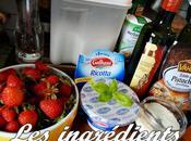 Crumble fraises, ricotta vinaigre balsamique