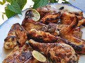 Barbecue: Poulet mariné Citron vert