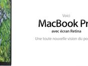 [WWDC 2012] MacBook avec écran rétina vous plein yeux