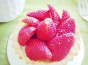 Tartelettes fraises compotée rhubarbe