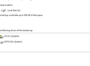 Google Drive Windows Backup seraient-ils incompatibles?