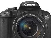 Canon dévoile nouveau reflex numérique l'Eos 650D