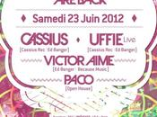 23/06 CASSIUS BACK UFFIE (Live) Showcase places gagner