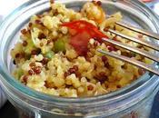 Boulgour-quinoa petits pois chorizo