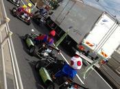 Mario Bros potes, kart autoroute Japon