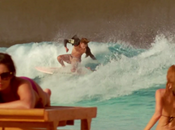 Globes's electric blue heaven Wavepool surf session