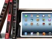 Nouvelle version BookBook, housse transforme l'iPad vieux livre