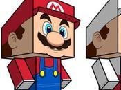 Papertoys Mario Cubeecraft (x2)