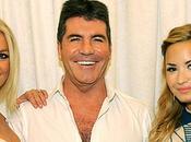 Simon Cowell Britney Demi font boulot Factor