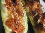 Courgettes farcies saumon