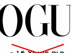 Plus mannequins mineurs dans Vogue
