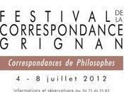 Festival correspondance Grignan quatrième dernière journée