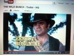 Ernest Borgnine, souvenir Horde Sauvage