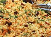 Salade boulgour carottes, menthe raisins secs