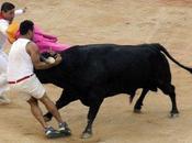 lâchers taureaux Fermin font blessés