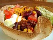 Taco Salad Salade Tex-Mex dans Coupelle Tortilla