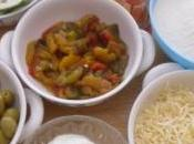 Bouchées légumes olives