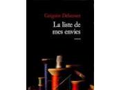 liste envies Grégoire Delacourt