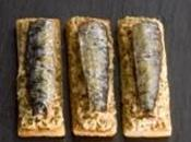Beurre sardine pour tartines parfumées l'apéritif