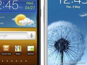 Samsung Galaxy mise jour vers Jelly Bean cours test