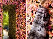 Christian Dior Couture AW12: défilé fleuri Simons