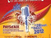 Moxity Pays d'Aix pour Festival Chanson Française