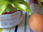 Confiture d'abricots saveur amande