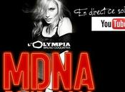 concert Madonna direct l'Olympia soir YouTube