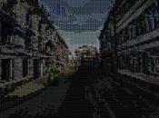 Google Street View ASCII