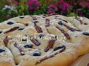 Fougasse... Enfin... Olives Noires, Tomates Séchées Origan