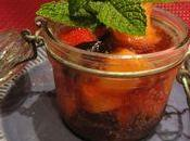 Minestrone fruits campari