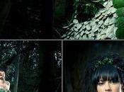 Robe mariée très nature forêt enchantée