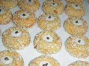 Petits four amandes abricots secs
