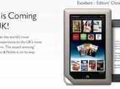 Barnes&Noble; Nook Royaume-Uni octobre