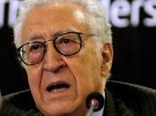 """Syrie l'""""Occident préfère théocratie islamiste dictature laïc"""" Lakhdar Brahimi"""