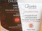 Alorée Masque Eclat Chloro Vitae L'avis d'une amie blogueuse^^
