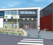 centre commercial Nacarat Géant Casino Brezet encore s'agrandir…