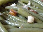 Salade haricots verts l'huile noisette