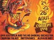 Flogging Molly Agnostic Front Caravan Palace Andy Festival Couvre Corsept 24/08/2012